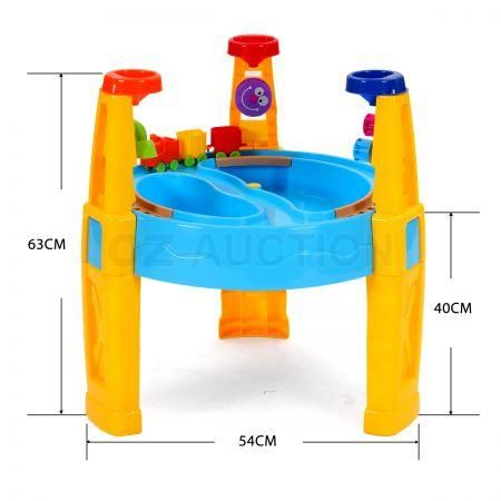 kids children umbrella sand and water play transport table sandpit toy toys set ebay. Black Bedroom Furniture Sets. Home Design Ideas