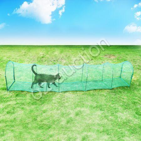 Deluxe Outdoor Foldable Pet Cat Walk Run Training Tunnel