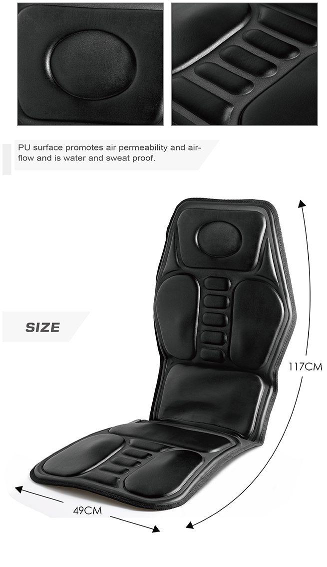 9 Motor Massage Car Seat Cushion Pad