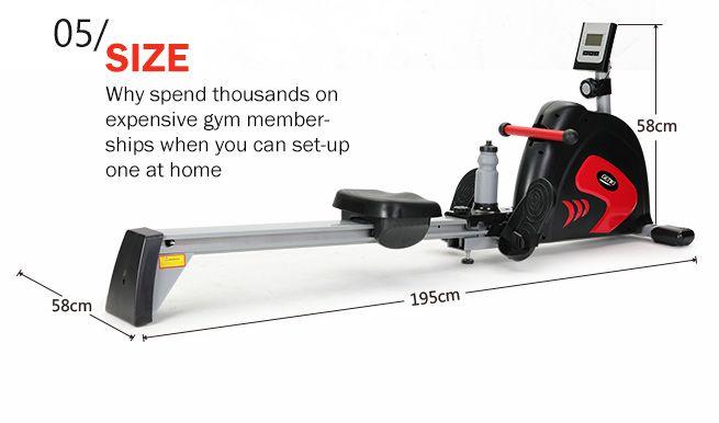 water flywheel rowing machine