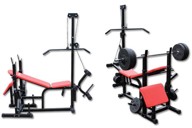 Genki Fitness Multi Station Weight Bench Press Incline