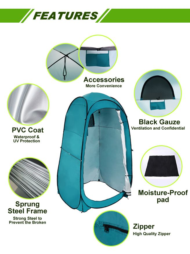 Pop-Up Ensuite Tent Pop-Up Ensuite Tent ...  sc 1 st  eBay & Pop-Up Ensuite Shower Tent Outdoor Camping Toilet Portable Change ...